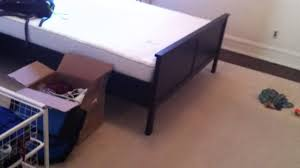 Hemnes Bed Frame by Ikea Hemnes Bed Frames Assembly Service Video In Woodbridge Va By
