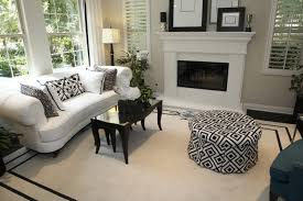 Black And White Living Room Rug 53 Formal And Casual Living Rooms Love Home Designs
