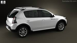renault sandero stepway black 360 view of renault sandero stepway br 2011 3d model hum3d store