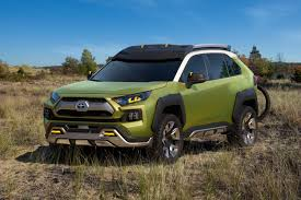 suv toyota toyota ft ac concept is a hybrid suv meant for mountains roadshow