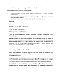 how to write a observation paper module ucsp sociology social sciences