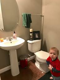 makeovermonday sneak peek of our own tiny bathroom update u2013 with