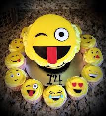 13 best cute emoji inspired cakes u0026 bakes images on pinterest