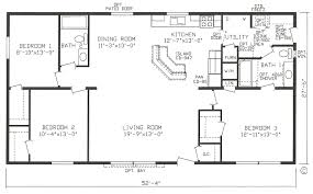 4 Bedroom 2 Bath House Plans Elegant 4 Bedroom Mobile Homes 62 For House Design Plan With 4