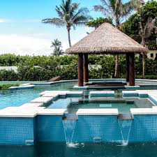 Tiki Outdoor Furniture by In Pool Tiki Bar Florida Tropical Pool Miami By The Tiki