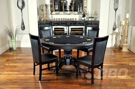 dining room contemporary black dining table and chairs round