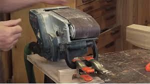 Bench Top Belt Sander Mounting A Belt Sander To A Workbench