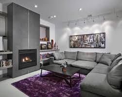basement living room designs trendy living room photo in edmonton