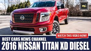 nissan cummins 2016 nissan titan xd cummins turbo diesel 0 60 has the answer to