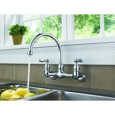 wall mount kitchen faucet single handle awesome wall mounted kitchen faucet single handle how to choose