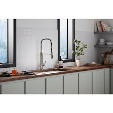 kitchen cabinet sink faucets kohler purist single handle semiprofessional kitchen sink