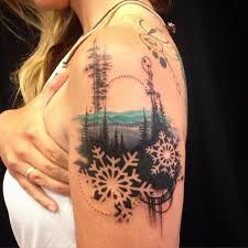 best 25 winter tattoo ideas on pinterest night tattoo lake