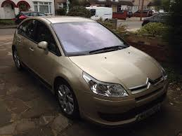selling citroen c4 1 6hdi vtr exclusive 2006 leather interior