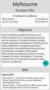 Easiest Resume Builder Simple Resume Builder Android Apps On Google Play