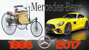 first mercedes benz 1886 mercedes benz evolution from 1886 2017 youtube