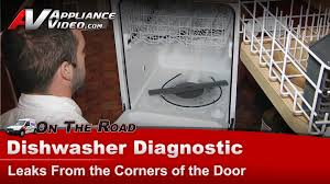 Maytag Drawer Dishwasher Maytag Kenmore U0026 Kitchenaid Dishwasher Diagnostic Leaks From