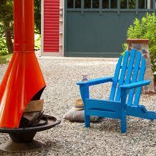 Highwood Hamilton Folding U0026 Reclining Poly Lumber Adirondack Chairs Dfohome