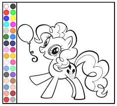 my little pony coloring book games free printable my