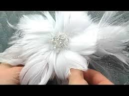 feather flower feather flower bridal hair comb by hair comes the