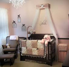 crib canopy bed crown jojo teesters princess mauve pink brown