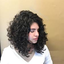 angled curly bob haircut pictures medium layered curly angled hair curly pinterest curly hair