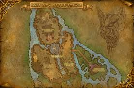 kalimdor map a busy at the south end of kalimdor the ancient gaming noob