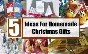 interesting ideas for homemade christmas gifts unique ideas for