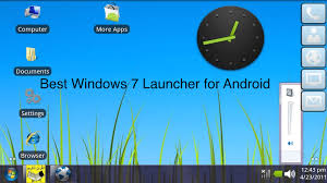 free downloads android windows 7 launcher for android apk free version