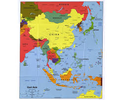 East And Southeast Asia Map by Map Of Asia East You Can See A Map Of Many Places On The List On