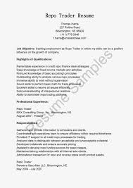 Resume For It Support Proprietary Trader Resume Virtren Com
