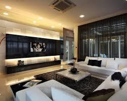 salas living room wall units sala de home theater iluminação luz cênica indireta e