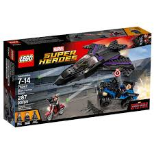 lego honda element lego marvel super heroes black panther pursuit 76047 toy pots