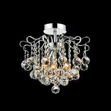 crystal semi flush mount lighting brizzo lighting stores 14 formosa crystal semi flush mount round