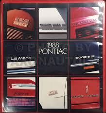 1988 pontiac fiero repair shop manual original