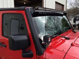 led light bar jeep wrangler jeep jk 51 3 8 led light bar mounts jeep jk shop by vehicle