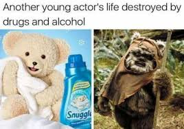 Snuggle Meme - dopl3r com memes another young actors life destroyed by drugs
