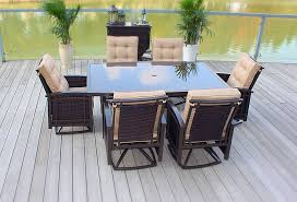 Tropicana Outdoor Furniture by Amazon Com 7pc Cast Aluminum Sling Patio Furniture Set Outdoor