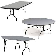 Plastic Folding Picnic Table All Hexalite Abs Plastic Folding Tables By Midwest Options