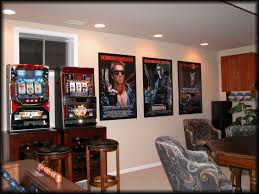 Media Room Designs - movie poster frames gallery spotlight displays