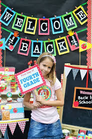 Welcome Back Decorations by Welcome Back To Sign Classroom Decor Apple Decor