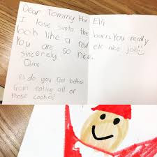 santa writing paper the real elf therealelftommy twitter 0 replies 0 retweets 1 like