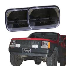 jeep wrangler square headlights jeep square headlights 28 images jeep wrangler yj square to