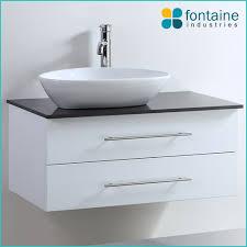 Stone Basin Vanity Unit Stonehenge 900 Or 1200 Wall Mounted Bathroom Vanity Ceramic Basin