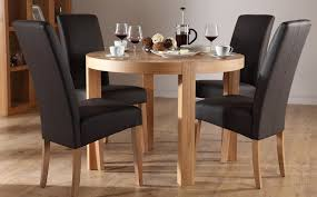 Delighful Round Dining Room Sets For   In Inspiration Decorating - Round dining room tables for 4