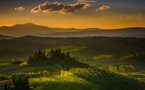 beautiful tuscany landscape italy hd wallpaper download