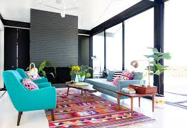 Colorful Living Room Rugs A Modern Makeover With Method Emily Henderson