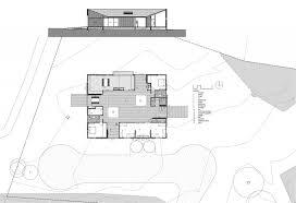 Modern Beach House Floor Plans Villa Modern House Floor Plan Of Diamond Beach House With Legend