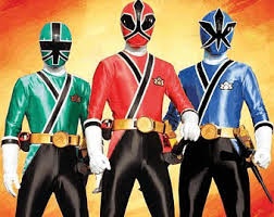 Power Rangers Samurai Halloween Costumes Power Ranger Samurai Etsy