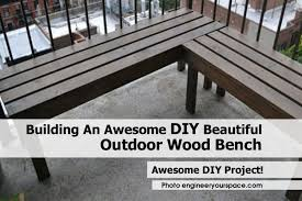 Wood Bench Plans Simple by Outdoor Wood Bench Engineeryourspace X Pics On Outstanding Easy