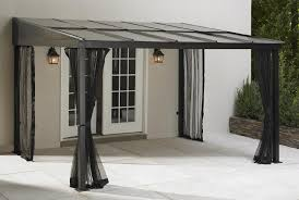 Gazebos With Hard Tops by Grand Resort 10ft X 12ft Mural Add A Room Gazebo Limited